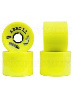 Abec11 ZigZags 66mm Ruote (set of 2) - Lemon