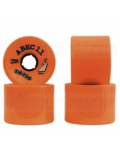 Abec11 ZigZags 66mm Ruote (set of 2) - Dark Orange