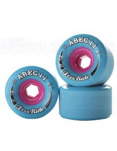 Abec11 Stone Ground Freerides 70mm Wheels - Blue
