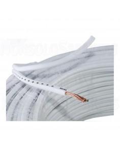CVS10C - OFC speaker cable 2x1.0mm² - white sheath