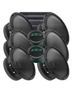 """Deaf Bonce Sylvester 8 kit PLUS 6x8"""", 2xTW + 4 CH Amp"""