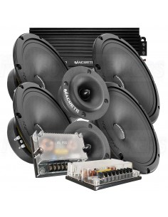 """DEAF BONCE HANNIBAL KIT 8"""" TW+MD+AMP"""