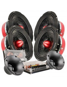 "Xcelsus Audio MAGMA 6.2SQL SQL 6.5"" kit 2 way speakers"