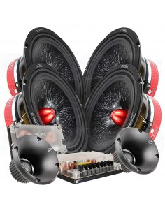 "Xcelsus Audio XUS 8"" speakers kit"