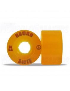 Abec11 Bertz 60mm Wheels Orange