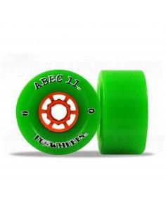 Abec11 Flywheels 97mm Wheels Lime