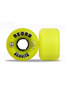 Abec11 Skwertz 62mm Wheels (clean) Yellow