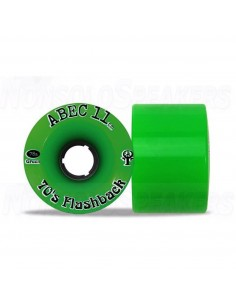 Abec11 Flashbacks 70mm Wheels Lime