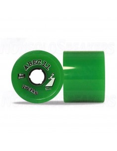 Abec11 Classic ZigZags 70mm Wheels Lime