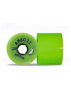 Abec11 ZigZags 70mm Wheels (set of 2) Lime