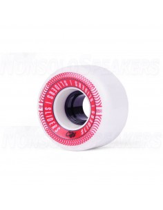 Cuei Sliders 65mm 78A White Red Wheels