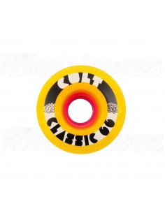 Cult Classic 66mm Wheels - Yellow
