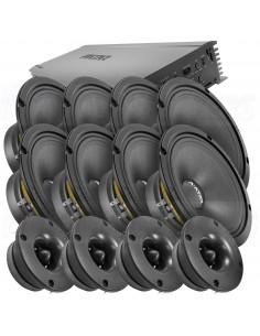 Avatar LAH 8x6,5 1000W PACKET amp + speakers