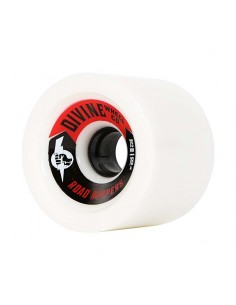 Divine Road Rippers 75mm Wheels - White