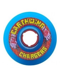 Earthwing Chargers 70mm Wheels - Blue