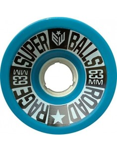 Earthwing Superball Road Rage 63mm Wheels - Blue