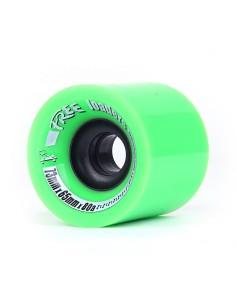 Free Wheels Loaders 73mm Wheels Green