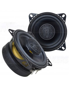 GROUND ZERO GZRF 4.0SQ 100 mm / 4″ 2-way coaxial
