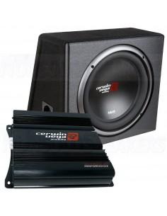 "Cerwin-Vega XED 10"" Bass box amp kit"