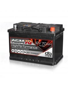 DBVox AGM 70 12V 70AH battery