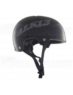 Alk13 Krypton Glossy Helmet Black/Grey