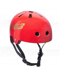 Alk13 Krypton Glossy Helmet Red/Gold