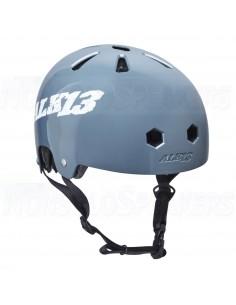 Alk13 Krypton Glossy Helmet Grey/White