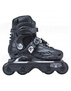 Kaltik K Skate JNR Ninja Aggressive Inline Skates Black