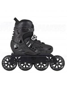 Kaltik K Kids Inline Skates JNR Freeskates Black