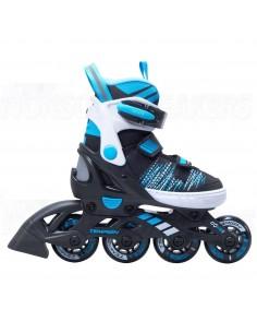 Tempish Gokid Adjustable Kids Inline Skates Black
