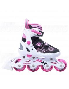 Tempish Gokid Adjustable Kids Inline Skates White