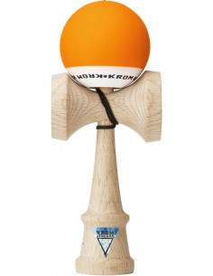 Krom Pop Rubber Kendama Orange