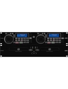 MONACOR CD-292USB Dual CD Player