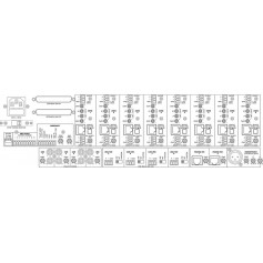 MONACOR ARM-880 Matrix & Paging System