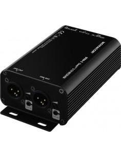 MONACOR DTRA-2 Dante-I/O-Box Reciever