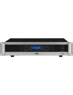 MONACOR STA-225 2U PA amplifier 2x250Wrms