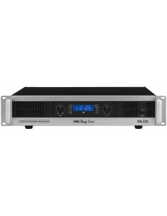 MONACOR STA-235 2HE PA amplifier 2x400Wrms