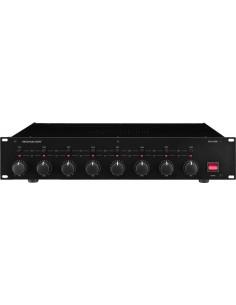 MONACOR STA-850D 2U PA-D 8x50Wrms