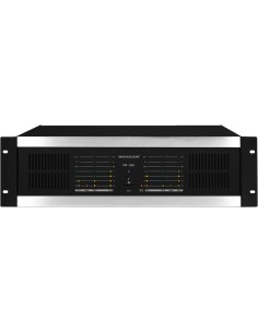 MONACOR STA-1506 3U PA amplifier 6x100W