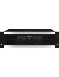 MONACOR STA-1508 3U PA amplifier 8x100W