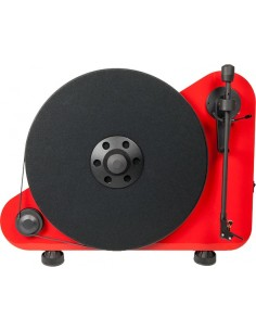 "PRO-JECT Vertical ""Plug & Play"" turntable RED"
