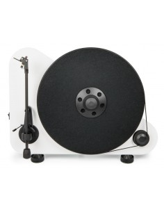 "PRO-JECT Vertical, wireless ""Plug & Play"" turntable WHITE"