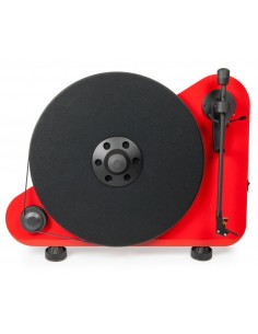 "PRO-JECT Vertical, wireless ""Plug & Play"" turntable RED"