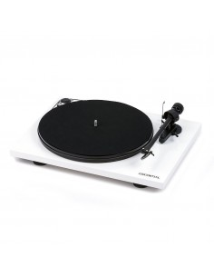 Pro-Ject Essential III turntable+phono stage WHITE