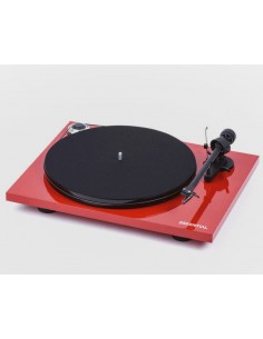 Pro-Ject Essential III turntable+phono stage RED