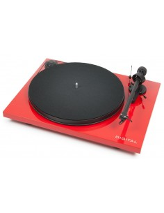 Pro-Ject Essential III Digital turntable-digital output RED