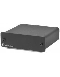 Pro-Ject Phono Box USB MM/MC preamp outputs black