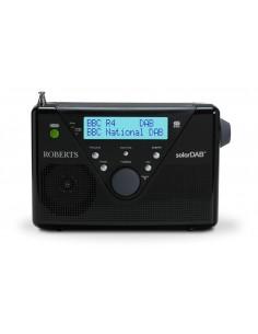 Roberts Radio SolarDAB 2 DAB+/DAB/FM black
