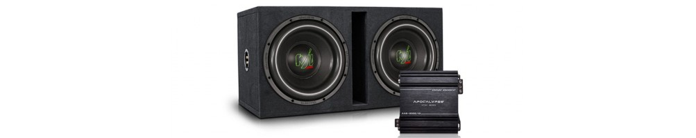 subwoofer with amplifier