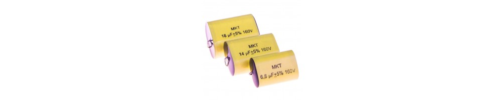 MKT film capacitors